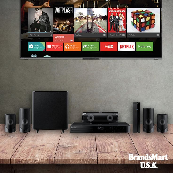 Samsung 1000 Watt 5.1ch Blu-ray Home Theater System - Clearance Price + Free Shipping - Immerse yourself in entertainment with this surround sound system. Samsung creates a room booming with premium audio, and puts you right at the center. Sync and stream all your favorite TV shows, games, apps, and more with built-in wireless. - Samsung - Big Game - Deals - Entertainment - Audio - Sound - Home Theater - Bluray - Surround Sound - Home Cinema - Clearance