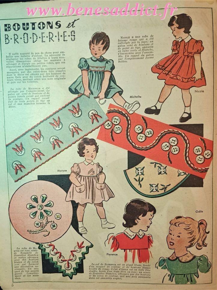 Jeux de fils avec 63 Patrons gratuits 50's couture, tricot ...