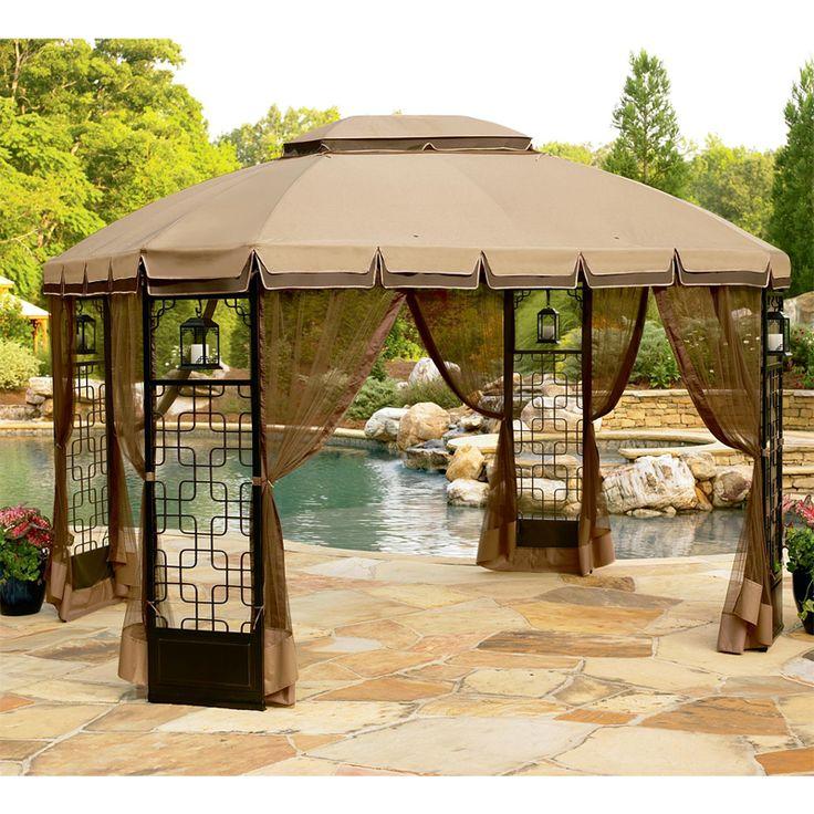 Curved Pergola, Patio Gazebo, Gazebo Canopy, Canopies, Gazebo Replacement  Canopy, Garden Oasis, Patio Ideas, Backyard Ideas, My Dream Home