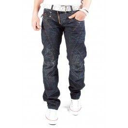 Cipo & Baxx dżinsy Zipper czarny C-0645 - Only €59.95 1S1H