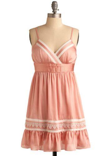 Zunie swiss dot lace dress