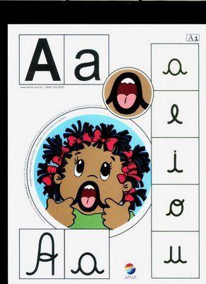 Alfabeto Famílias Silábicas - O Método Fônico das Boquinhas.