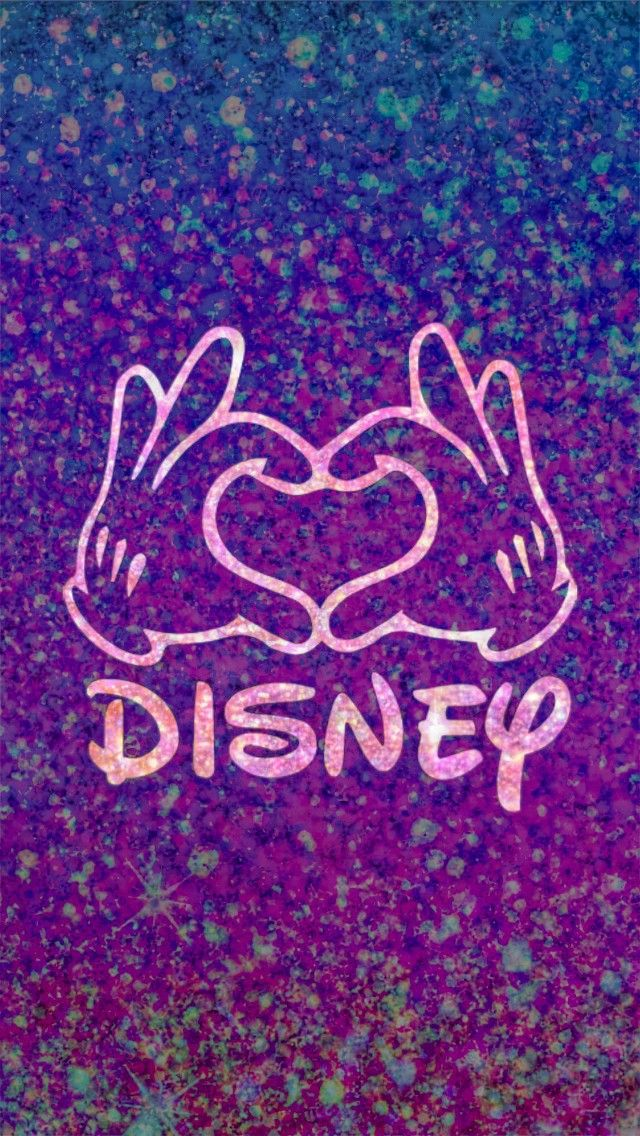 Glittery Disney Love Made By Me Purple Sparkly Wallpapers Backgrounds Sparkles Glitter Love Wallpaper Backgrounds Disney Wallpaper Cute Disney Wallpaper