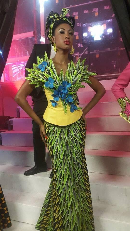 Fééries : les 20 ans de mode de Gilles Touré | adiac-congo.com : toute l'actualité du Bassin du Congo