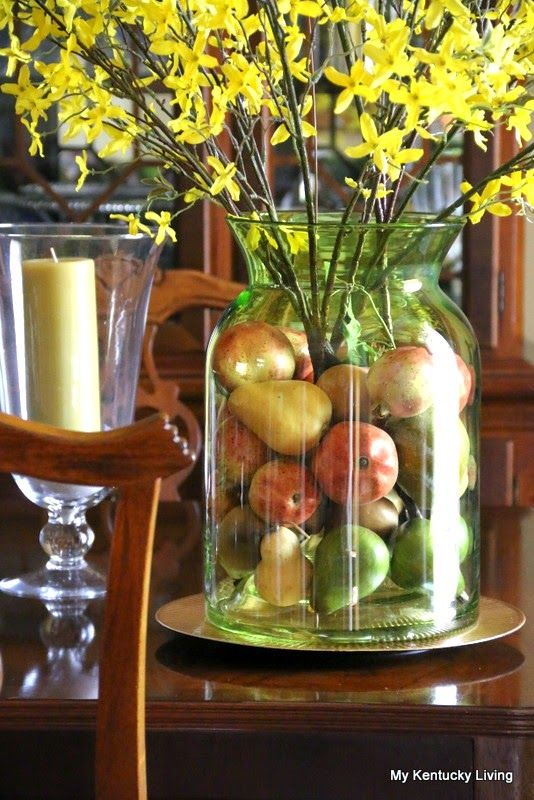 How to Decorate With Jars, Jugs, and Bottles - My Kentucky Living