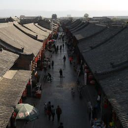 ©CRAterre / Thierry Joffroy - China - Ping Yao County, Shan Xi Province - Ancient City of Ping Yao
