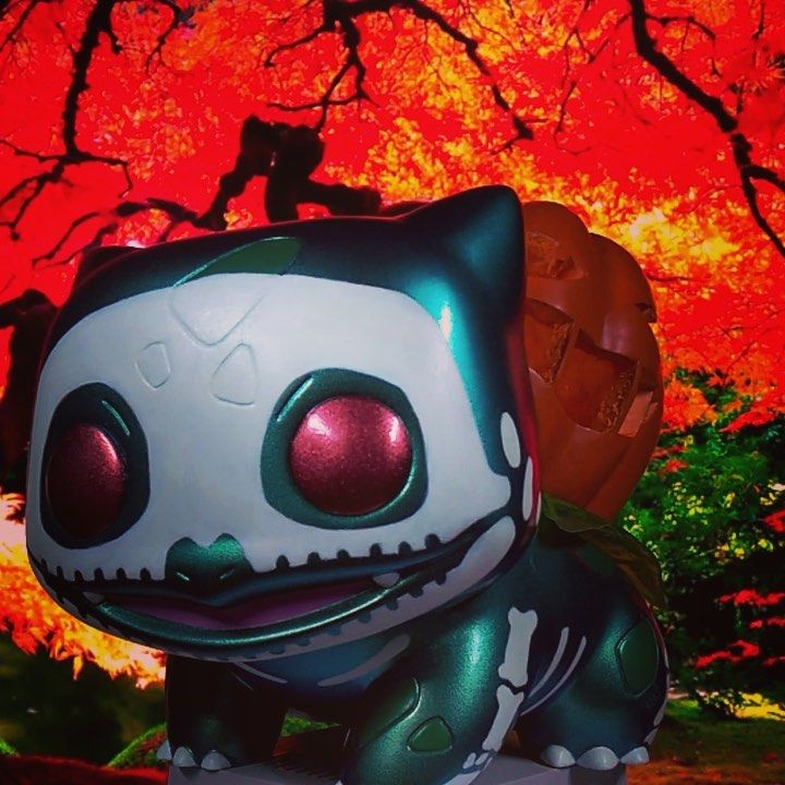 Halloween 2020 Custom Funko Pop Custom Funko Pop Halloween Bulbasaur by @Benz_custom_pops in 2020