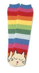 Cat Non Skid Socks / Women's