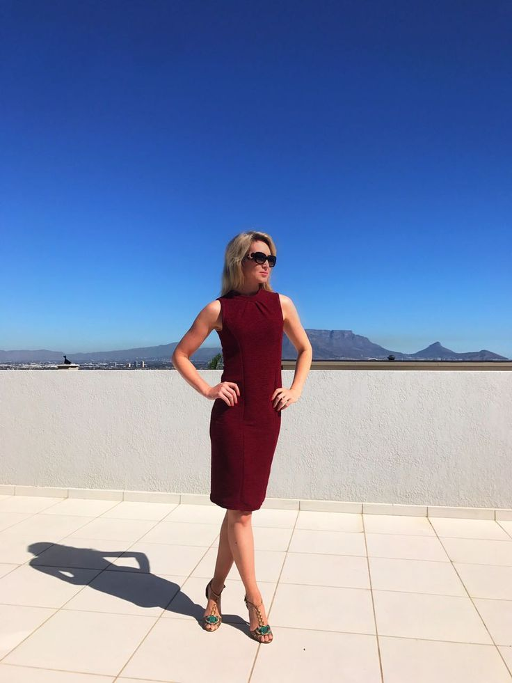 Burgundy Dress - Day to Night Time Must Have