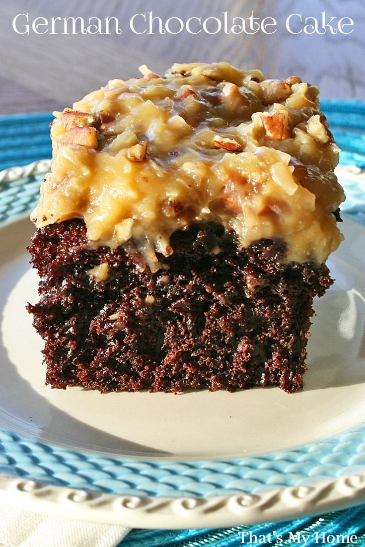 Best 25+ German chocolate cake frosting ideas on Pinterest ...