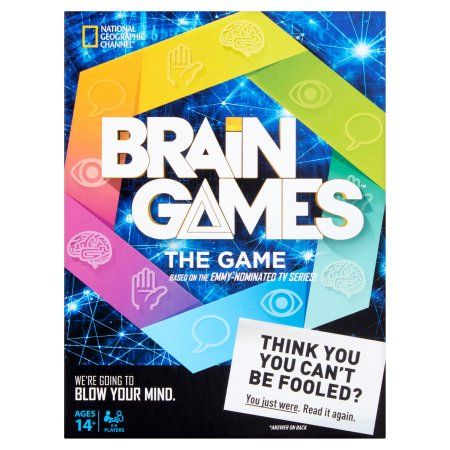 National Geographic Brain Games The Game, Ages 14+