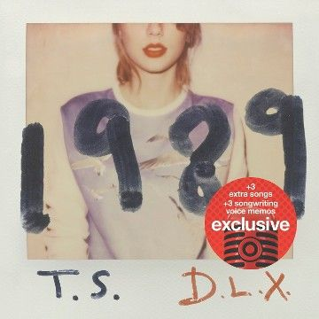 Taylor Swift - 1989 (Deluxe Edition) - Target Exclusive