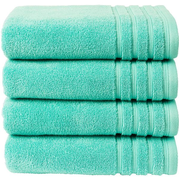 Christy Panama Towel Pool 12 Liked On Polyvore Featuring Home Bed Teal Bath Towelsbathroom Towelsteal