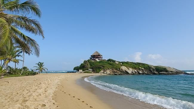 The beaches of Tayrona national park are among the highlights of Colombia.