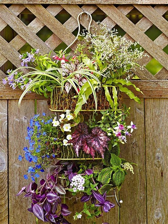 Garden Showers - great idea to re-use something you'd normally throw out once rusted in shower.