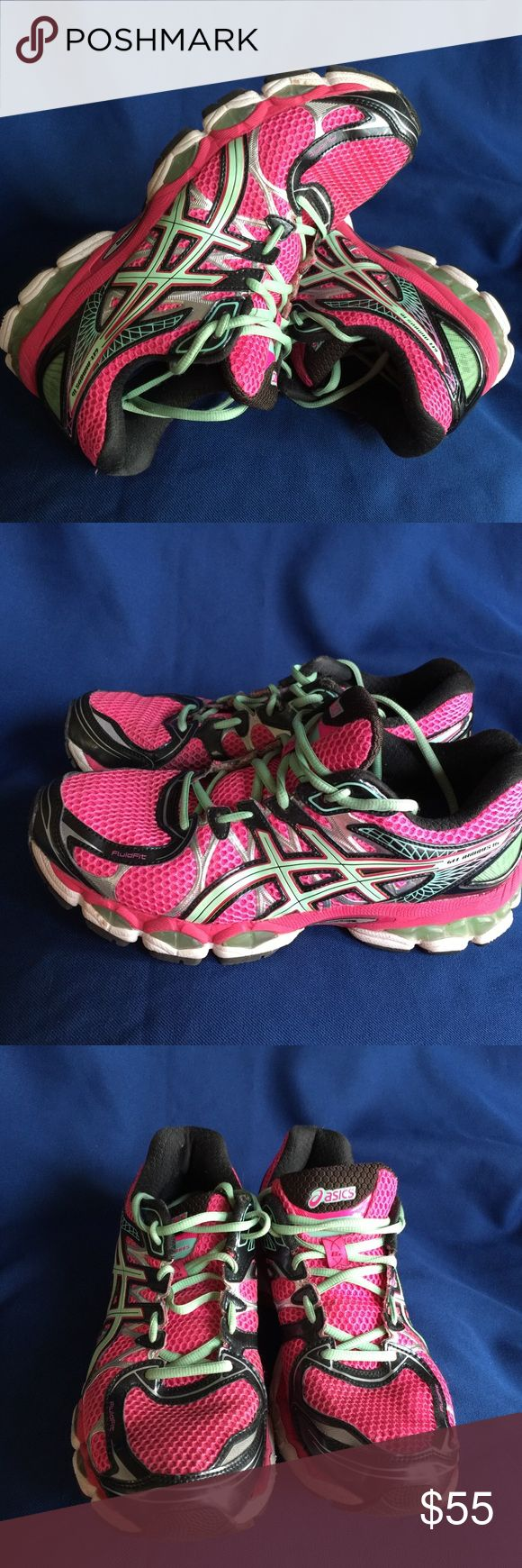 Women's Asics Gel Nimbus 16 size 9,5 Gently used Asics Shoes Sneakers