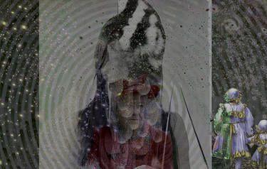 """Saatchi Art Artist Leni Smoragdova; Collage, """"4po2TJWLKGLKJGLEW"""" #art"""