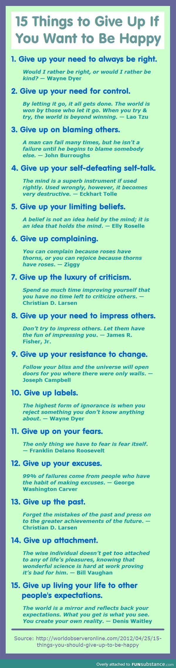 Some good life advice