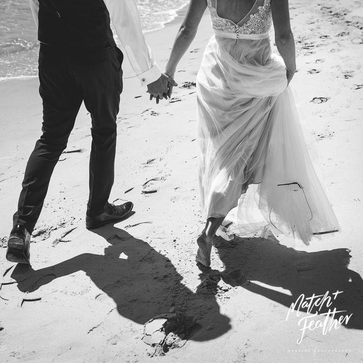 Beach wedding // MATCH + FEATHER