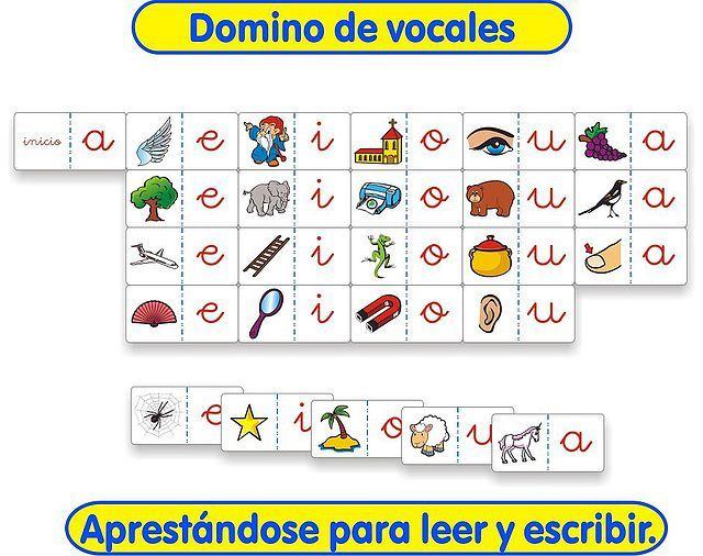 fonética y fonologia - JUEGO DE LAS VOCALES - Tareas