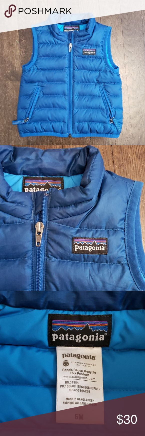 Patagonia baby puffer vest Baby patagonia, Puffer vest