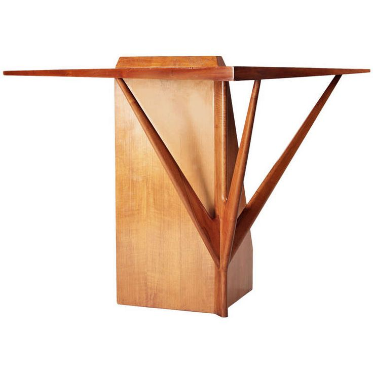 Corner Console Table philip & kelvin laverne center hall table | modern, center table