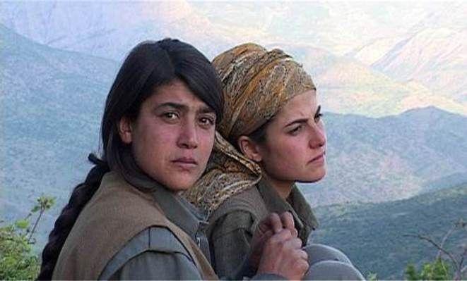 femmes kurdes luttant contre Daech