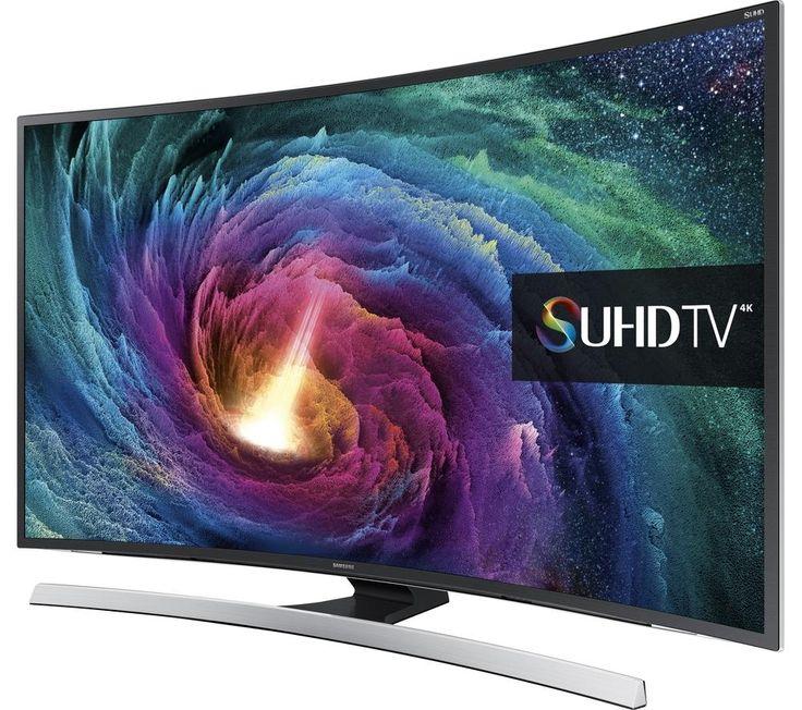 "SAMSUNG SUHD UE55JS8500 Smart 3D Ultra HD 4k 55"" Curved LED TV"