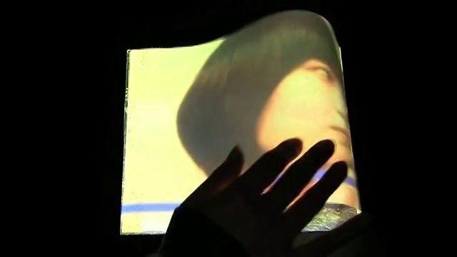 """牧野 由樹子, 筧 康明: """"Metamorphic Light: 紙の変形と張りを用いた映像操作インタフェースの検討"""", インタラクション2011, デモ発表 (2011.3).   Yukiko Makino and Yasuaki Kakehi: """"Metamorphic Light: A Tabletop Tangible Interface Using Deformation of Plain Paper ,"""" ACM SIGGRAPH2011, Posters (2011.8)."""