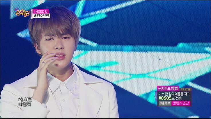 [HOT] BTS - I NEED U, 방탄소년단 - I NEED U, Show Music core 20150516