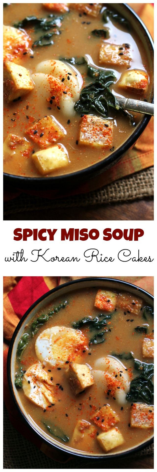 Blue apron korean rice cakes - Spicy Miso Soup With Korean Rice Cakes