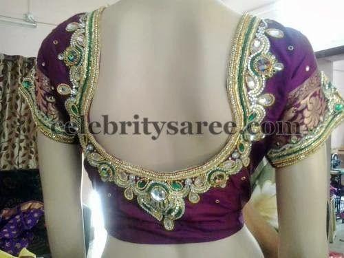 New Model Wedding Blouse Designs