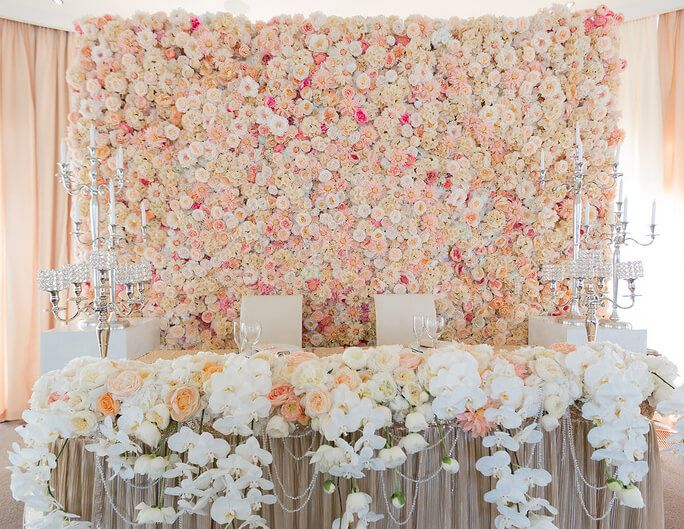 Украшение зала на свадьбу в Москва. Украшение свадебного зала ...
