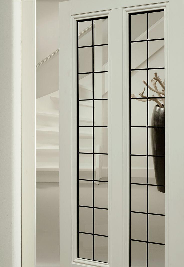 Bruynzeel deuren / deur idee / binnendeur / Glas in lood