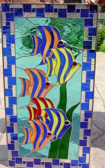 Tropical Fish Swim  love the border design on this
