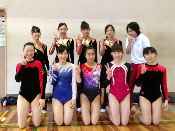 高校女子体操