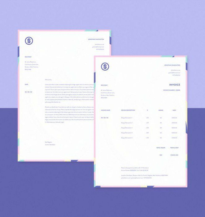 Best  Invoice Design Ideas On   Invoice Layout