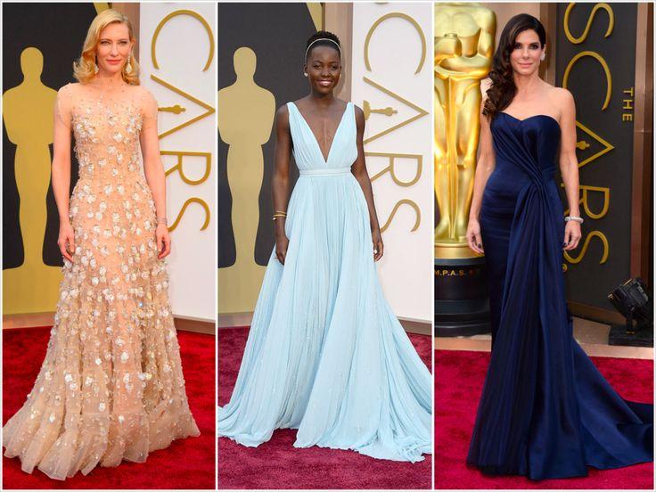 Kasaba'da Kırmızı Halı geçidinde en beğendiğimiz giysiler ise sırasıyla; 1. Cate Blanchett'ın Giorgio Armani, 2. Lupita Nyong'o'un Prada, 3. Sandra Bullock'un Alexander McQueen imzalı gece elbiseleri oldu.