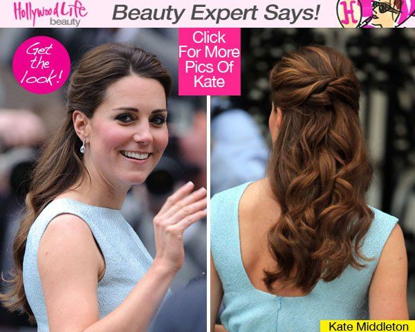 The Duchess of Cambridge looks better every time she's seen in public and the hairstyle she wore on April 24 was romantic and gorgeous. We'll share a celeb stylist's top tips below!