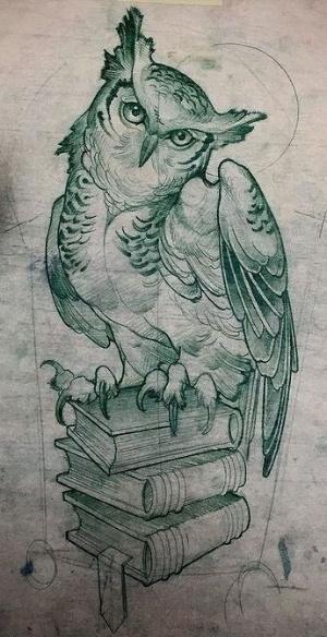 Owl tattoo design • Visit artskillus.ru for more tattoo ideas by annabelle
