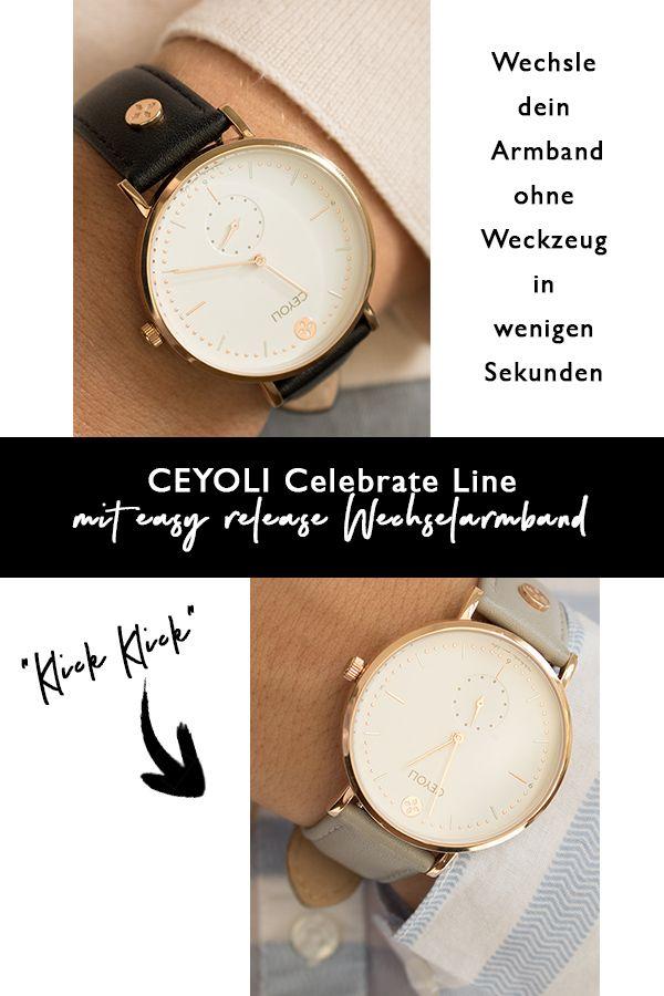 CEYOLI ist eine Mission! Die Uhren für Damen in rosegold begleiten dich jeden Tag und erinnern dich dein Leben zu feiern.