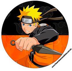 """Imprimés Thème """"Naruto"""" : http://fazendoanossafesta.com.br/2014/12/fundo-natal-vermelho-e-verde-kit-festa-gratuito.html/"""