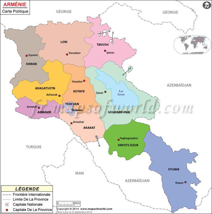#Arménie Carte