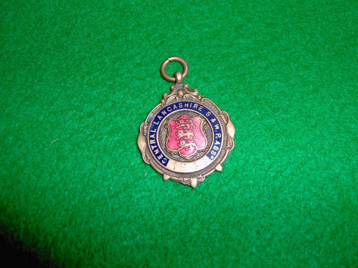 Fattorini Bronze And Enamel Watch Fob, 1946, Possibly RAF Related? Albert Chain Fob. Water Polo Association. I Post Overseas By Arrangement. by ArtysBazaar on Etsy