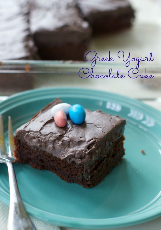 A super moist Chocolate cake recipe with Chocolate Cream Cheese Frosting making it light with Greek yogurt