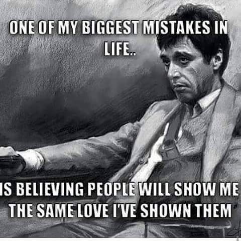 Top 100 scarface quotes photos #tonymontana #scarfacequotes #wordstoliveby #realshit #lovethisone #maybeitwillchange