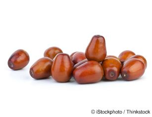 Jujubes: Rhamnaceae (Buckthorn); cultivated in China since 2000BC; over 400 varieties, some best for eating fresh, others for drying. They don't have a large amount of any one nutrient, but contain a wide  range, including magnesium, potassium, copper, niacin, calcium, manganese, phosphorus and iron; contain 20x vitamin C than citrus, 18 amino acids. Many medical benefits. | FoodFacts.Mercola