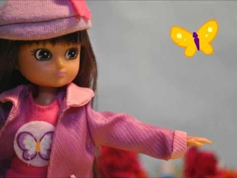 ▶ Butterfly Protector Lottie Doll - YouTube