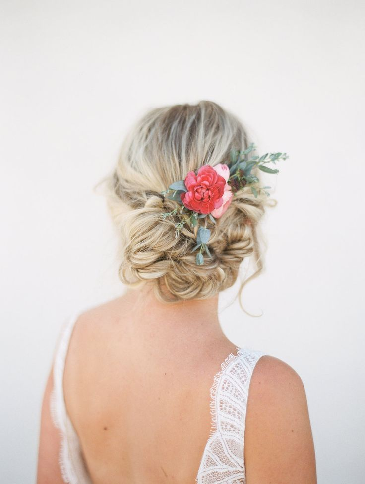 wedding hair - http://ruffledblog.com/delicate-french-inspired-bridals