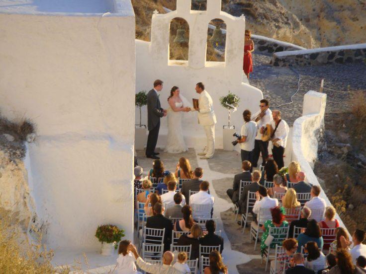 #Wedding #Santorini #Thermes Villas